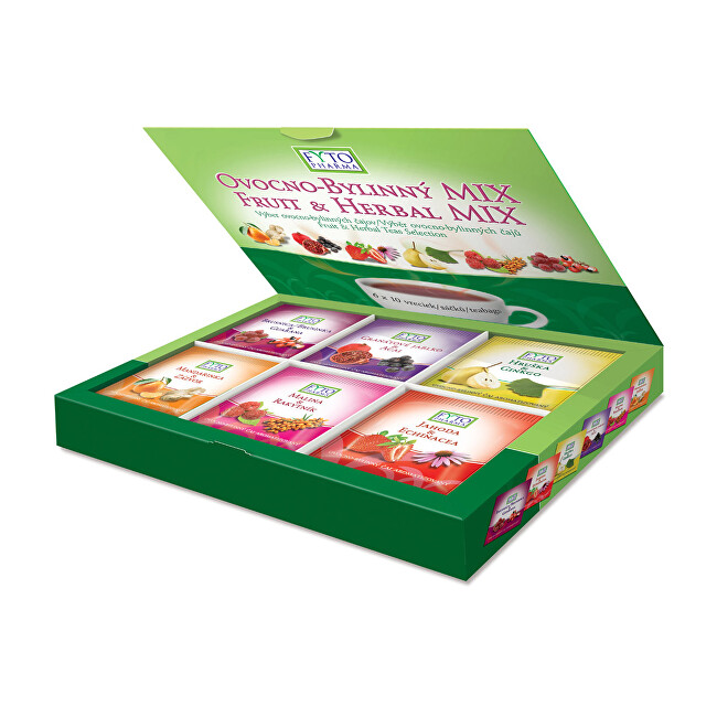 Zobrazit detail výrobku Fytopharma Ovocnobylinný MIX čajů dárkový 60 x 2 g