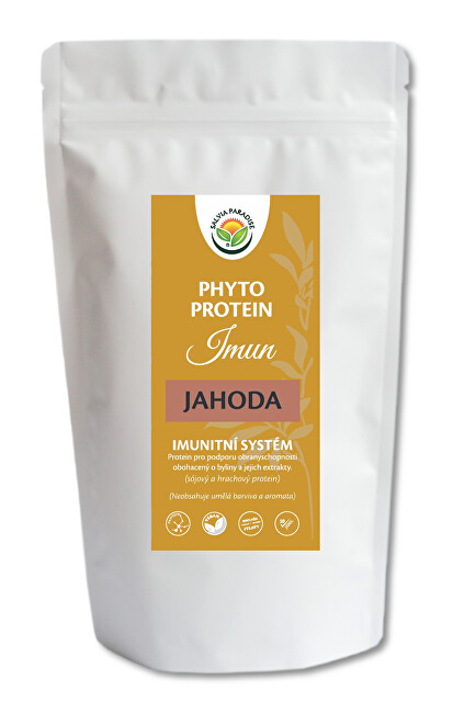 Zobrazit detail výrobku Salvia Paradise Phyto Protein Imun 300 g Jahoda