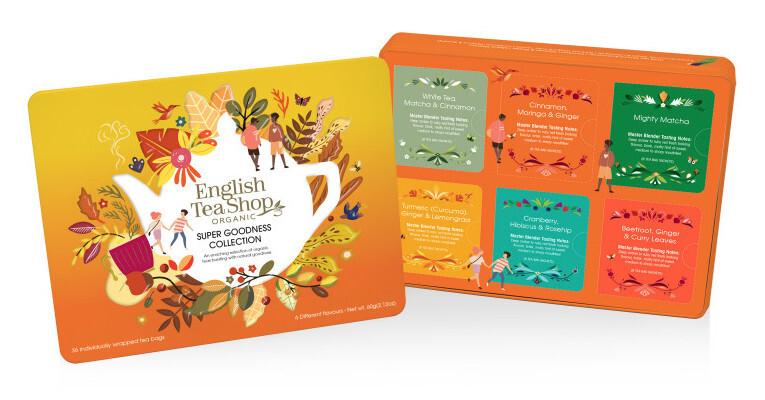 Zobrazit detail výrobku English Tea Shop Plechová kazeta superovocná 36 nál. sáčků