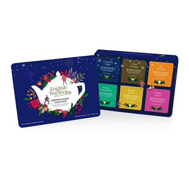 Zobrazit detail výrobku English Tea Shop Plechová kazeta modrá 36 sáčků