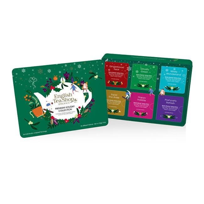 Zobrazit detail výrobku English Tea Shop Plechová kazeta zelená 36 sáčků