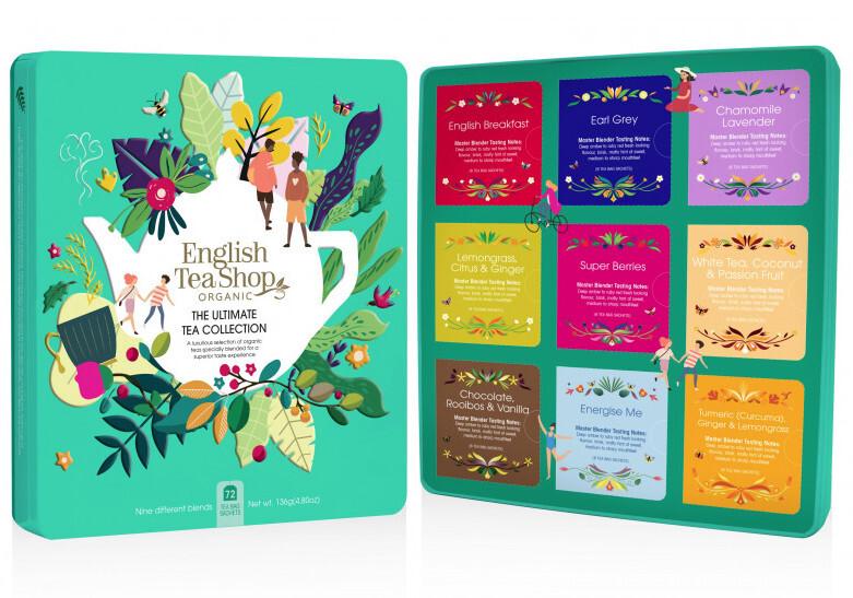Zobrazit detail výrobku English Tea Shop Prémiová plechová kazeta 72 nál. sáčků