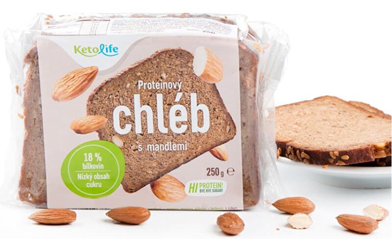 Proteinový chléb - S mandlemi 250 g