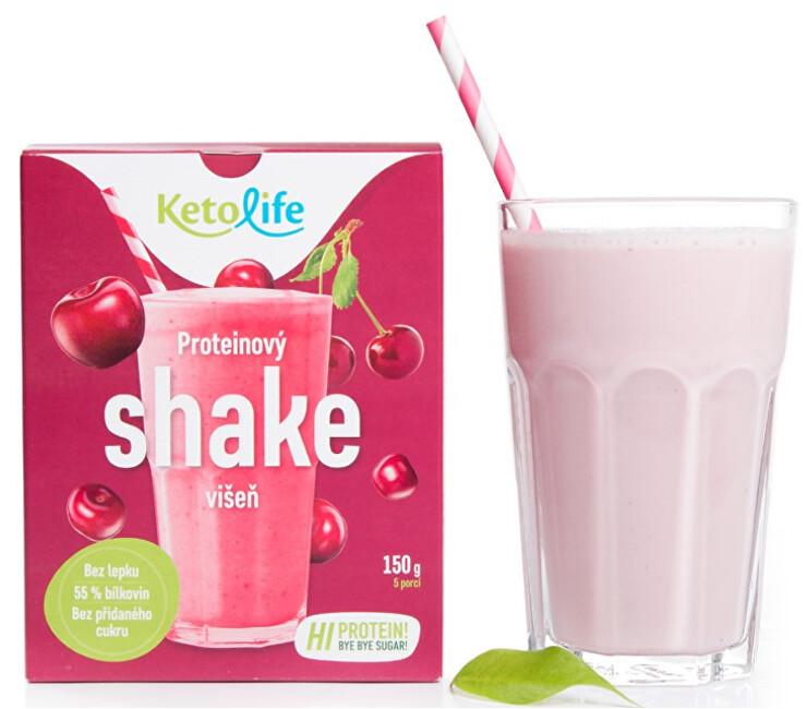 Zobrazit detail výrobku KetoLife Proteinový shake - Višeň 5 x 30 g