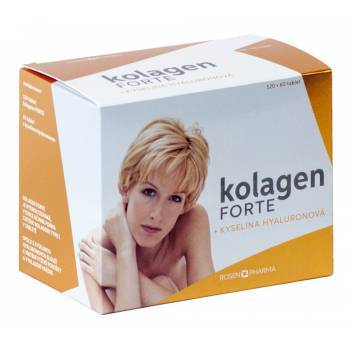 Rosenpharma Rosen Kolagén FORTE + Kyselina hyalurónová 180 ks
