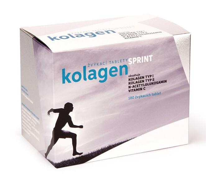 Zobrazit detail výrobku Rosenpharma Rosen Kolagen SPRINT 180 žvýkacích tablet