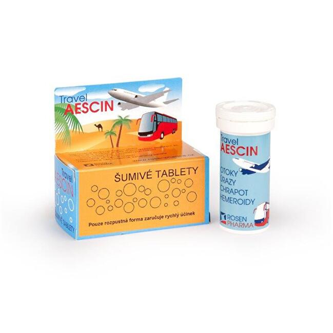 Zobrazit detail výrobku Rosenpharma Rosen Travel Aescin 7 šumivých tablet
