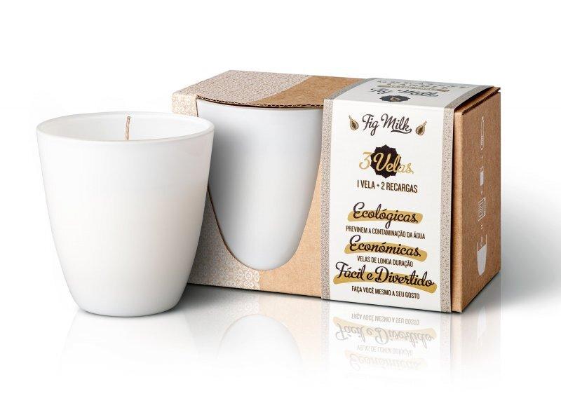 Zobrazit detail výrobku The Greatest Candle Fig Milk 3 x 130 g