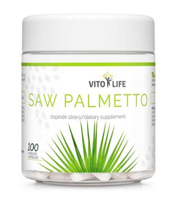Zobrazit detail výrobku Vito life Saw palmetto, 100 tobolek