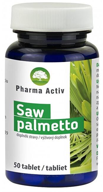 Zobrazit detail výrobku Pharma Activ Saw palmetto 50 kapslí
