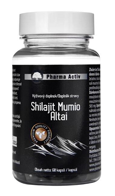 Zobrazit detail výrobku Pharma Activ Shilajit Mumio Altai 60 tablet