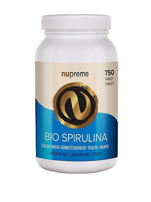 Zobrazit detail výrobku Nupreme Spirulina 750 tablet BIO