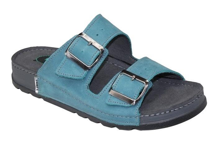 Zobrazit detail výrobku SANTÉ Zdravotní obuv dámská vycházková N/211/1/87/CP tyrkys 40