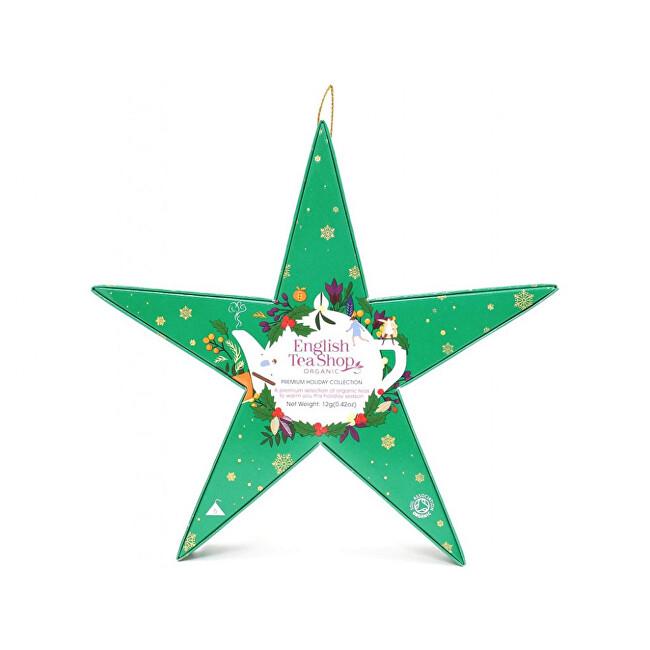 Zobrazit detail výrobku English Tea Shop Zelená hvězda, BIO 6 pyramidek