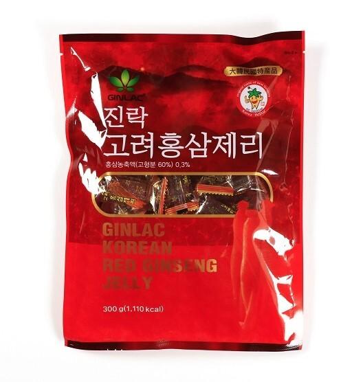 Zobrazit detail výrobku GINLAC Ženšenové želé bonbony 300 g