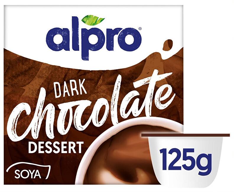 Zobrazit detail výrobku Alpro Alpro sójový dezert s příchutí tmavé čokolády 125 g