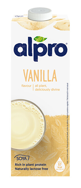 Zobrazit detail výrobku Alpro Alpro sójový nápoj s vanilkovou příchutí 1 l
