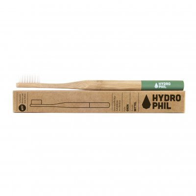 Zobrazit detail výrobku Hydrophil Bambusový kartáček medium Zelený