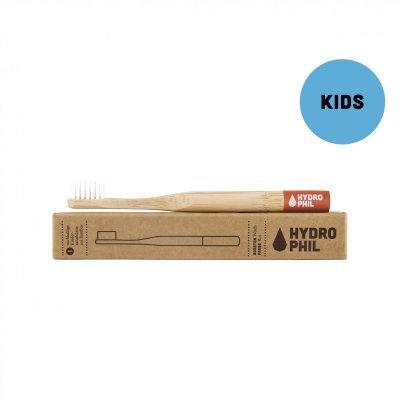 Zobrazit detail výrobku Hydrophil Bambusový kartáček pro děti (soft) Červený