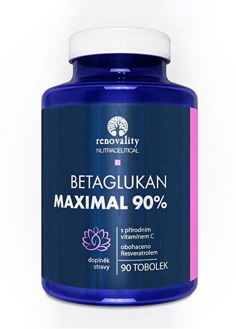 Zobrazit detail výrobku Renovality Betaglukan 90% MAXIMAL s Vitamínem C 90 tobolek