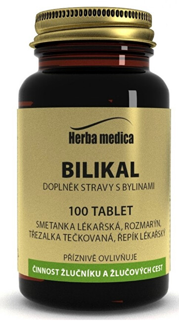 Zobrazit detail výrobku HerbaMedica Bilikal 50g - podpora žlučníku 100 tablet