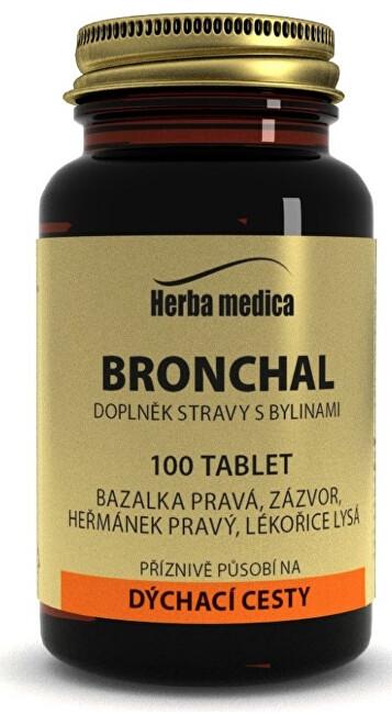 Zobrazit detail výrobku HerbaMedica Bronchal 50 g - 100 tablet