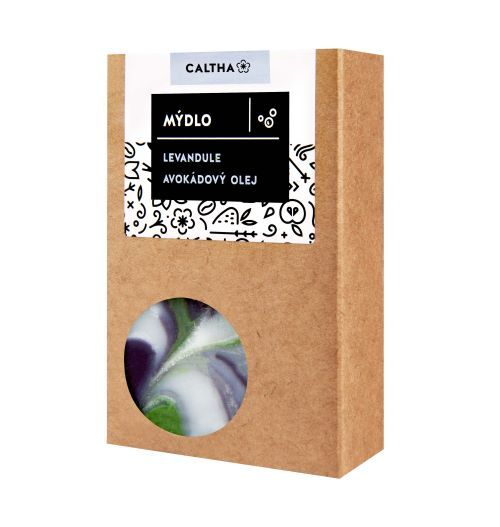 Zobrazit detail výrobku Caltha Mýdlo levandule a avokádový olej 100 g