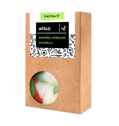 Zobrazit detail výrobku Caltha Mýdlo meduňka, chlorella a spirulina 100 g