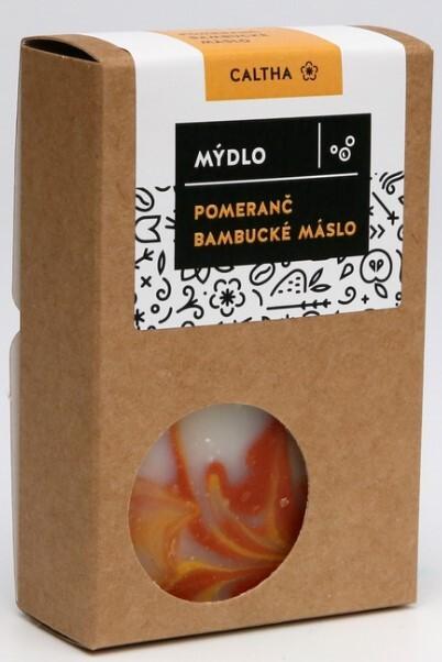 Zobrazit detail výrobku Caltha Caltha Mýdlo pomeranč a bambucké máslo 100 g