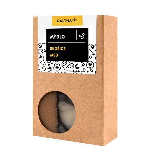 Zobrazit detail výrobku Caltha Mýdlo skořice a med 100 g