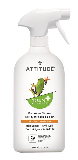 Zobrazit detail výrobku ATTITUDE Nature+ Čistič na koupelny ATTITUDE s vůní citronové kůry s rozprašovačem 800 ml