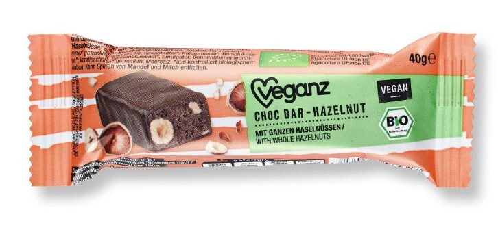 Čokoládová tyčinka s nugátem, Bio 40 g