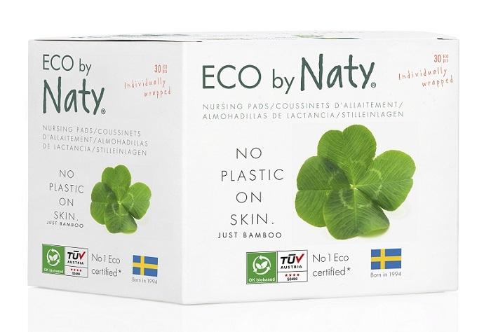 Zobrazit detail výrobku Eco by Naty Dámské ECO prsní vložky Naty pro kojící ženy (30 ks)