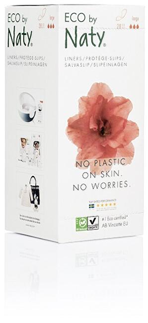 Zobrazit detail výrobku Eco by Naty Dámské ECO slipové vložky Naty (28 ks) - super