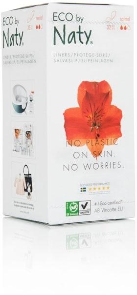 Zobrazit detail výrobku Eco by Naty Dámské ECO slipové vložky Naty (32 ks) - normal
