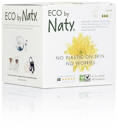 Zobrazit detail výrobku Eco by Naty Dámské ECO vložky Naty (15 ks) - normal