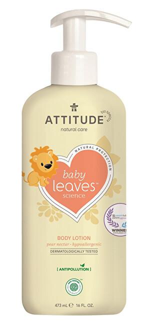 Zobrazit detail výrobku ATTITUDE Dětské tělové mléko ATTITUDE Baby leaves s vůní hruškové šťávy 473 ml