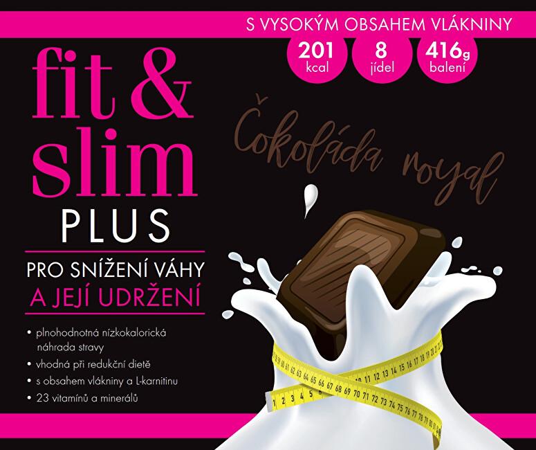 Zobrazit detail výrobku Fit & Slim Fit & Slim PLUS - Čokoláda Royal