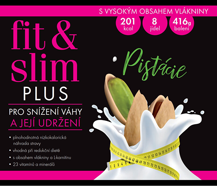 Fit & Slim PLUS - Pistácie