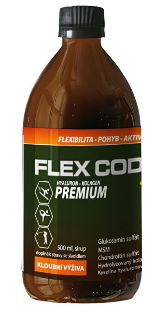 Zobrazit detail výrobku Elanatura Flex Code Premium 500ml (s kolagenem typu II)