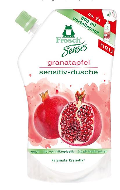 Zobrazit detail výrobku Frosch Frosch EKO Senses Sprchový gel Granátové jablko - náhradní náplň 500 ml
