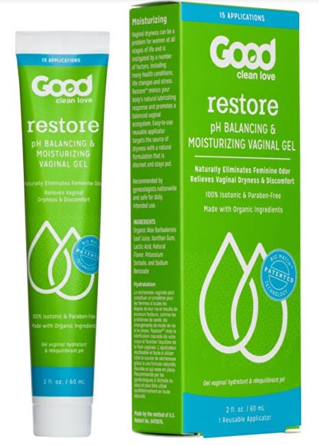 Zobrazit detail výrobku Good Clean Love Good Clean Love Lubrikační gel proti zánětům a mykózám Téměř nahá 40 ml