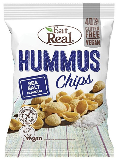 Zobrazit detail výrobku Eat Real Hummus Sea Salt 135 g