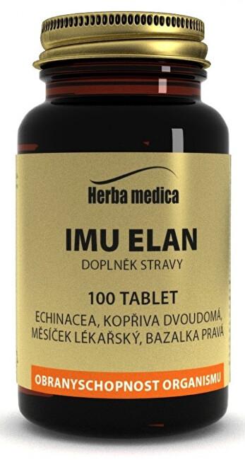 Zobrazit detail výrobku HerbaMedica Imu Elan 50g - podpora imunity 100 tablet