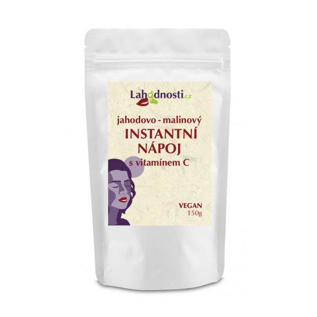 Zobrazit detail výrobku Lahodnosti Jahodovo-malinový instantní nápoj s vitamínem C pro podporu imunity 150 g