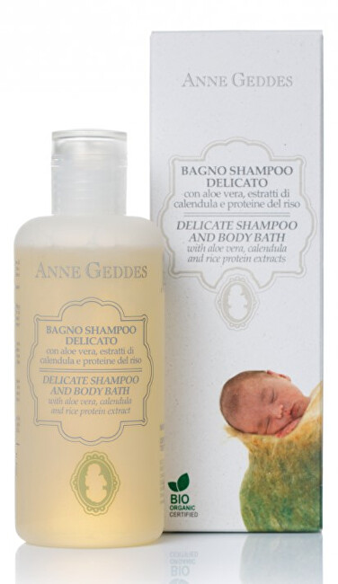 Jemný dětský vlasový a tělový šampon 250 ml