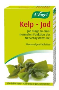 Jod - švýcarská kvalita 120 tablet