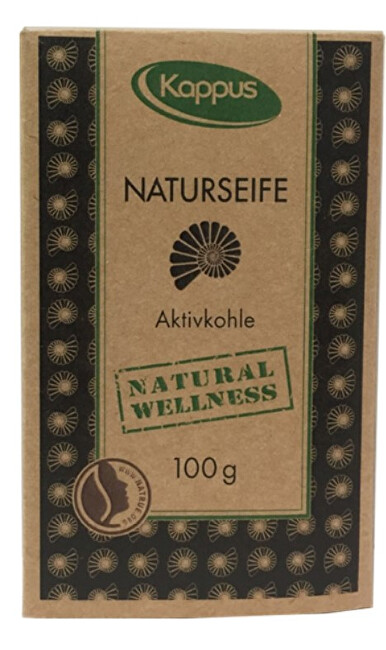 Zobrazit detail výrobku Kappus Natural wellness mýdlo 100 g 3-1423 Vulkanické bahno
