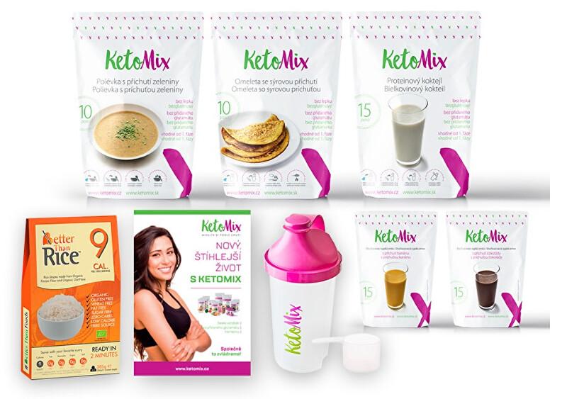 Zobrazit detail výrobku KetoMix Ketonová dieta na 7 dní (35 porcí) 1 545g