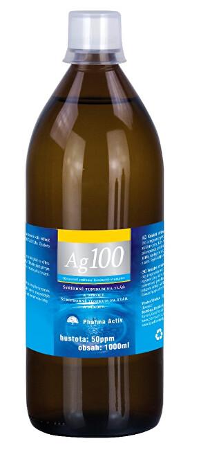 Zobrazit detail výrobku Pharma Activ Koloidní stříbro Ag100 (50ppm) 1000 ml